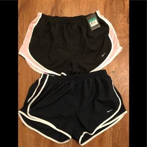 Bundle of 2 Nike dri fit shorts